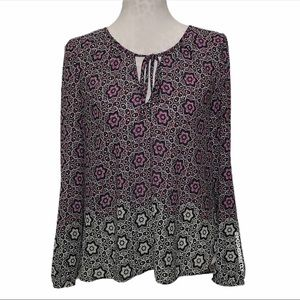 Anthropologie Printed Blouse
